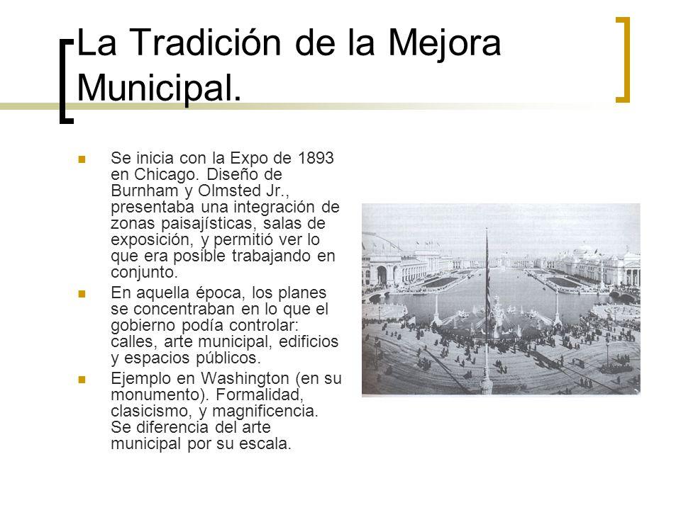 La Tradición de la Mejora Municipal.