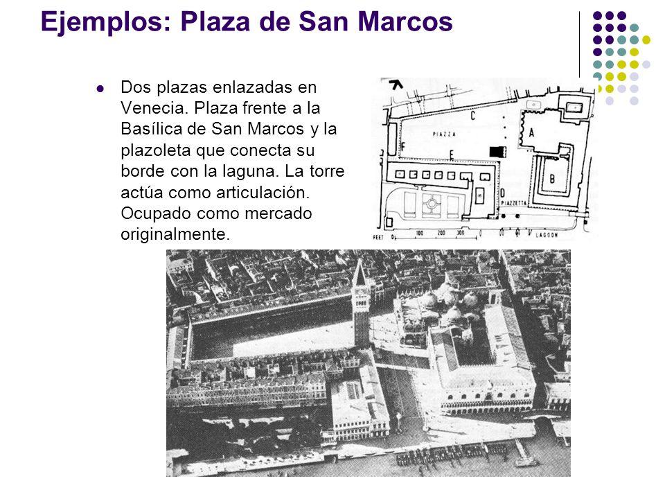 Ejemplos: Plaza de San Marcos