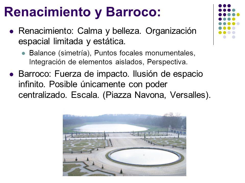 Renacimiento y Barroco: