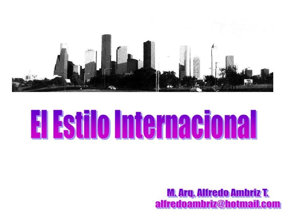 El Estilo Internacional