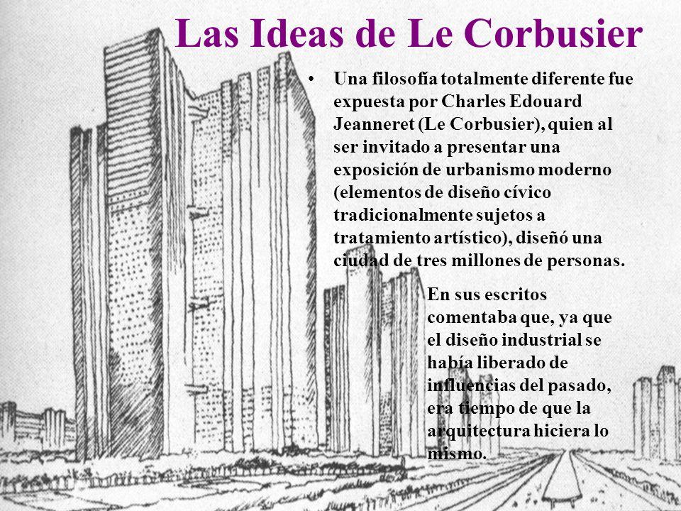 Las Ideas de Le Corbusier