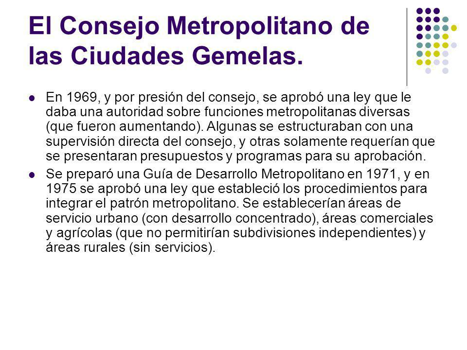 El Consejo Metropolitano de las Ciudades Gemelas.