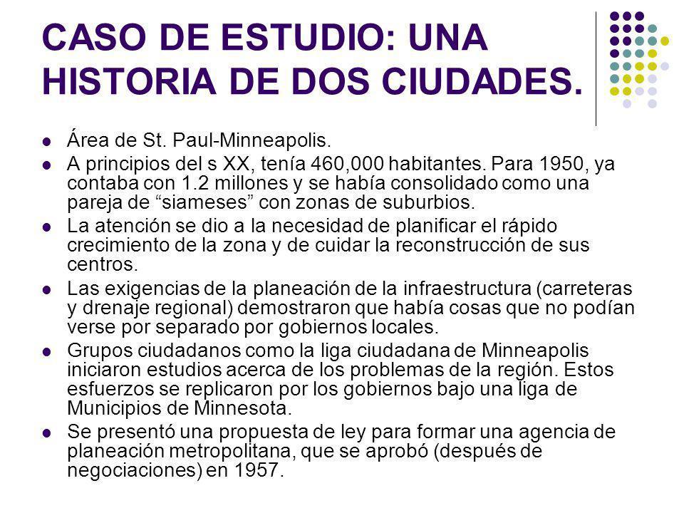 CASO DE ESTUDIO: UNA HISTORIA DE DOS CIUDADES.