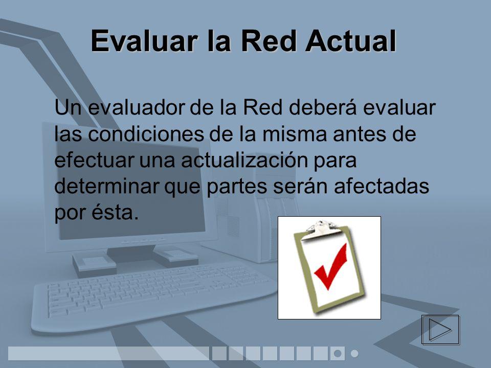 Evaluar la Red Actual