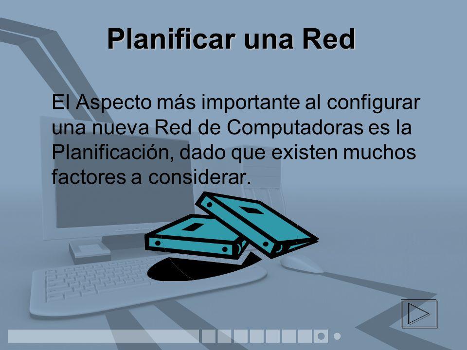 Planificar una Red