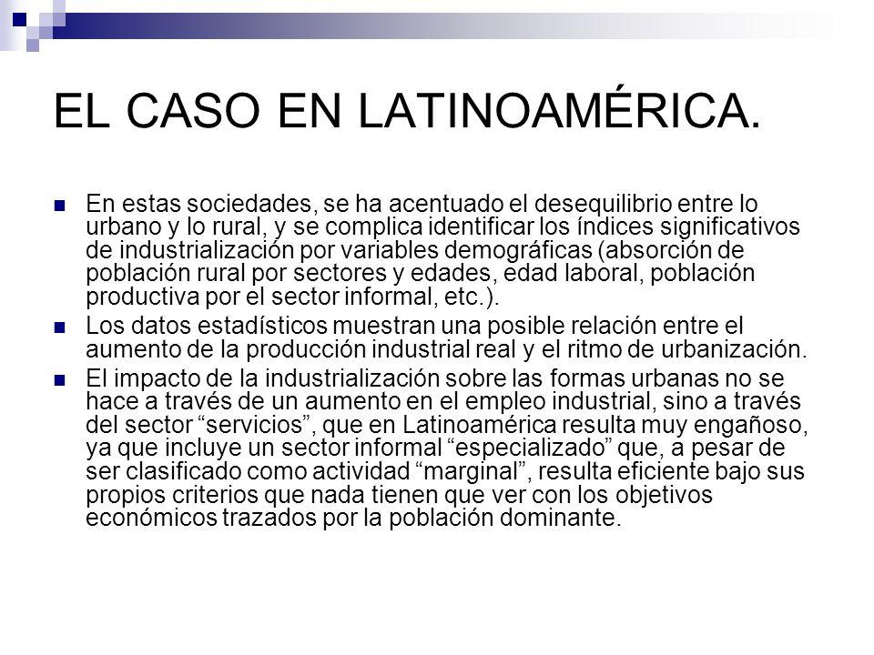 EL CASO EN LATINOAMÉRICA.