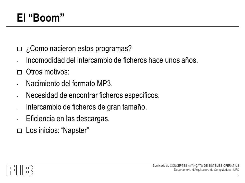 El Boom ¿Como nacieron estos programas