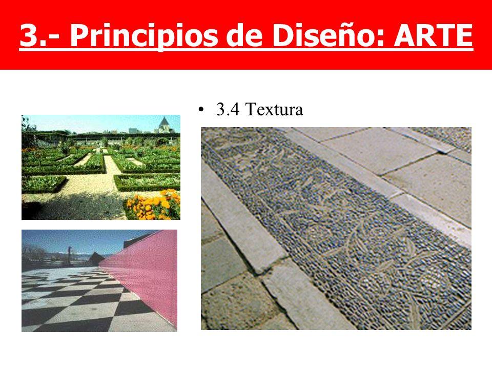 3.- Principios de Diseño: ARTE