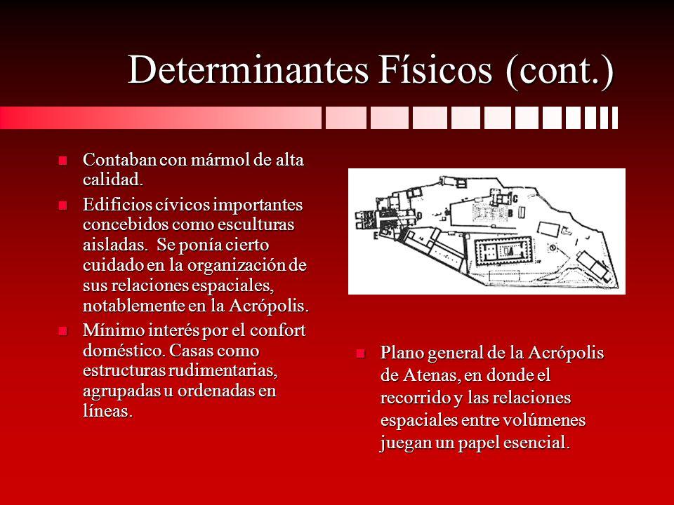 Determinantes Físicos (cont.)