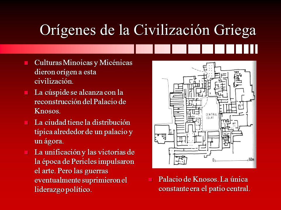 Orígenes de la Civilización Griega