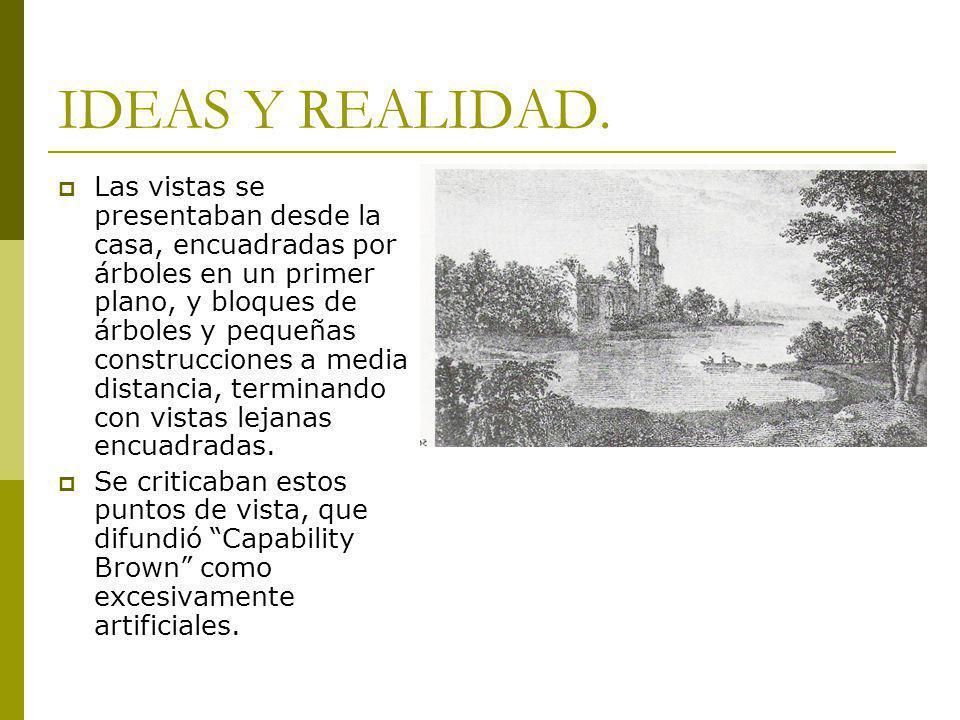 IDEAS Y REALIDAD.