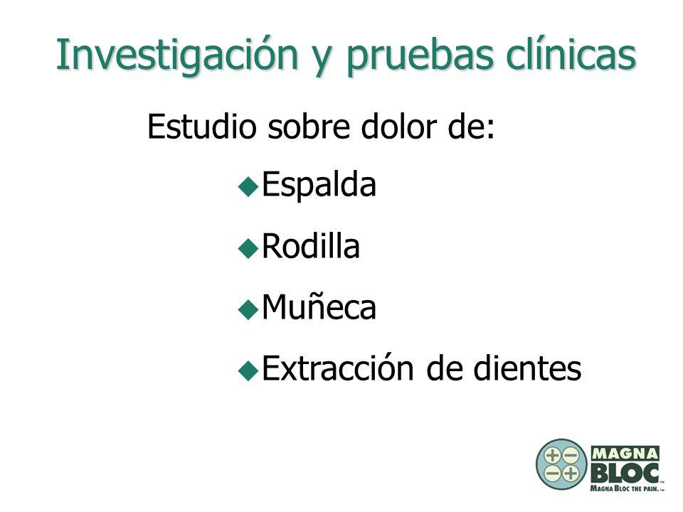 Investigación y pruebas clínicas