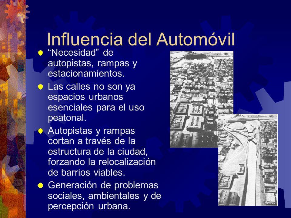 Influencia del Automóvil