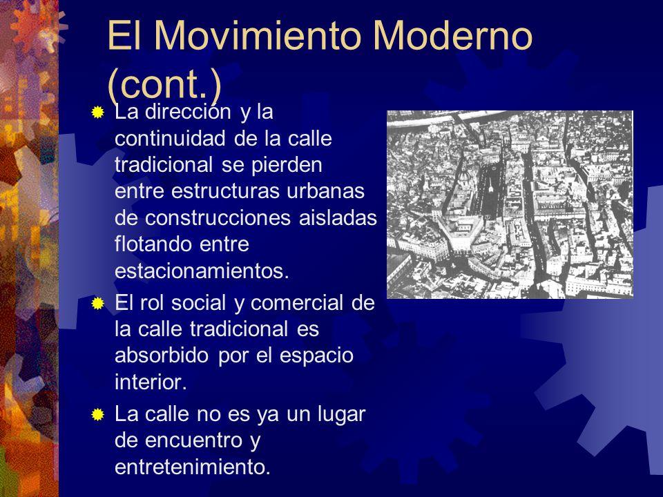 El Movimiento Moderno (cont.)