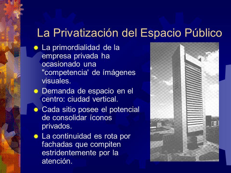La Privatización del Espacio Público