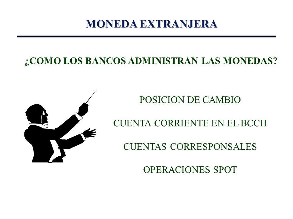 MONEDA EXTRANJERA ¿COMO LOS BANCOS ADMINISTRAN LAS MONEDAS