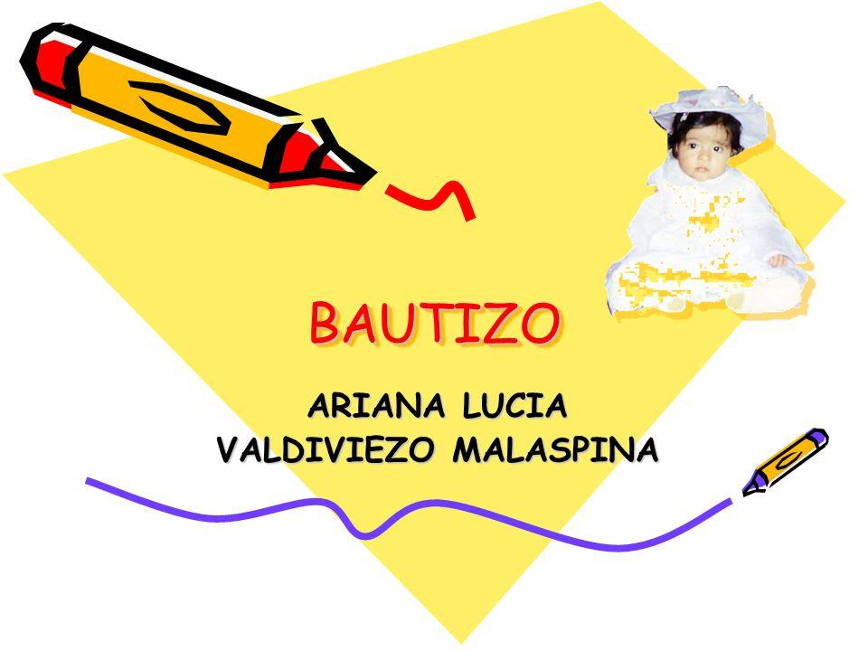 ARIANA LUCIA VALDIVIEZO MALASPINA
