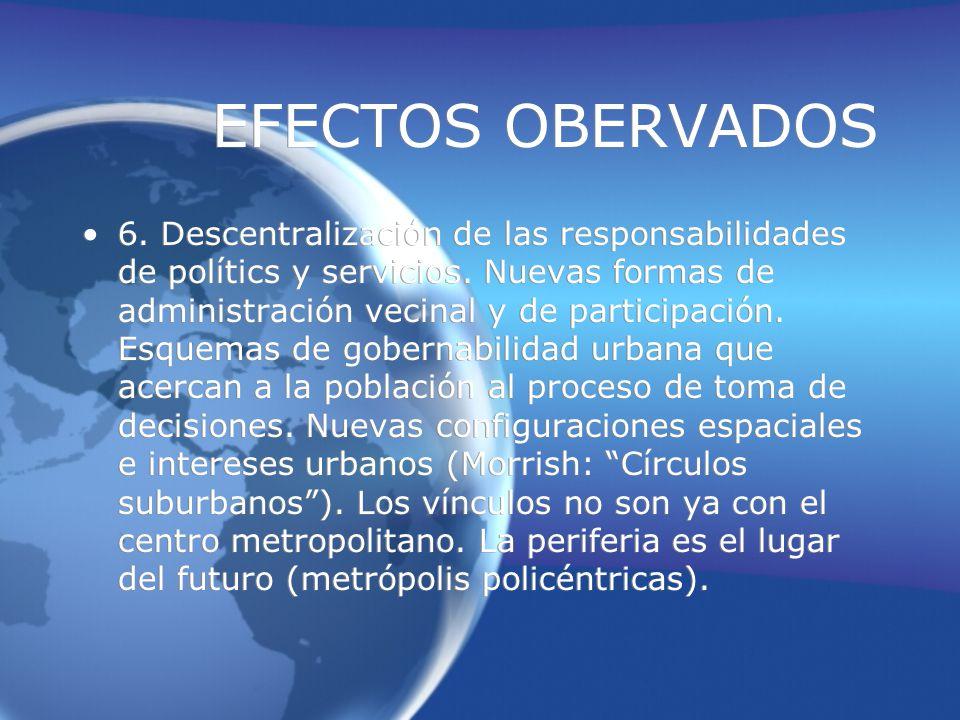 EFECTOS OBERVADOS