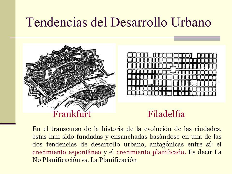 Tendencias del Desarrollo Urbano