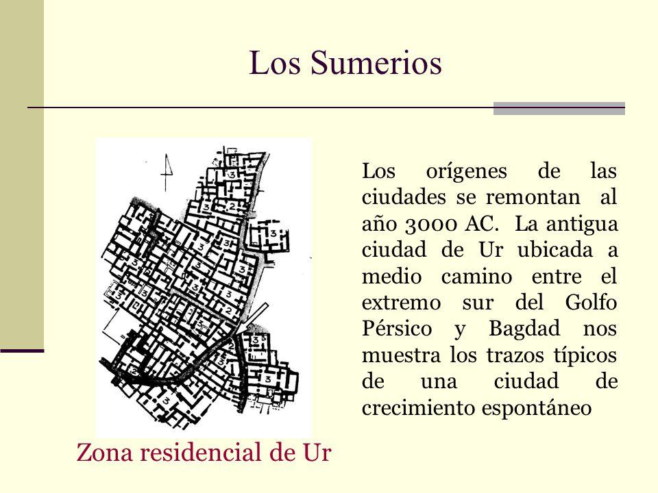 Los Sumerios Zona residencial de Ur