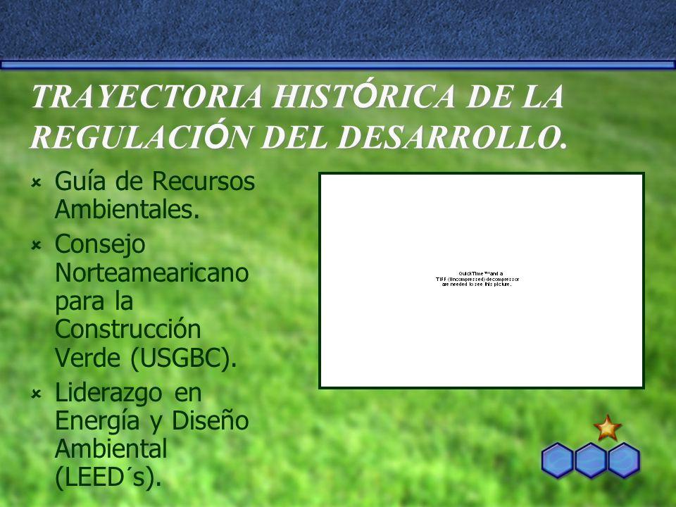 TRAYECTORIA HISTÓRICA DE LA REGULACIÓN DEL DESARROLLO.