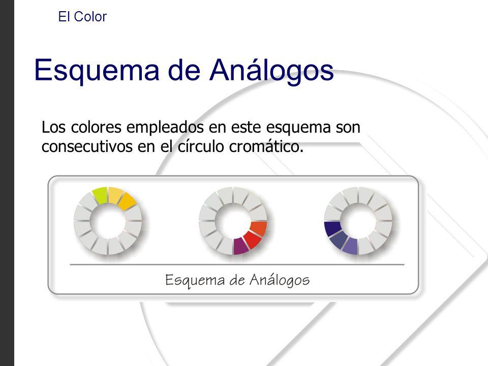 El Color Esquema de Análogos.