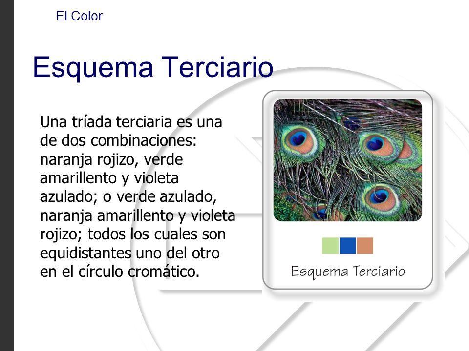 El Color Esquema Terciario.
