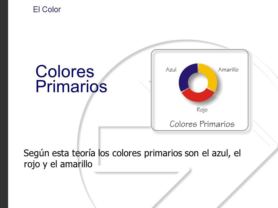 El Color Colores Primarios.