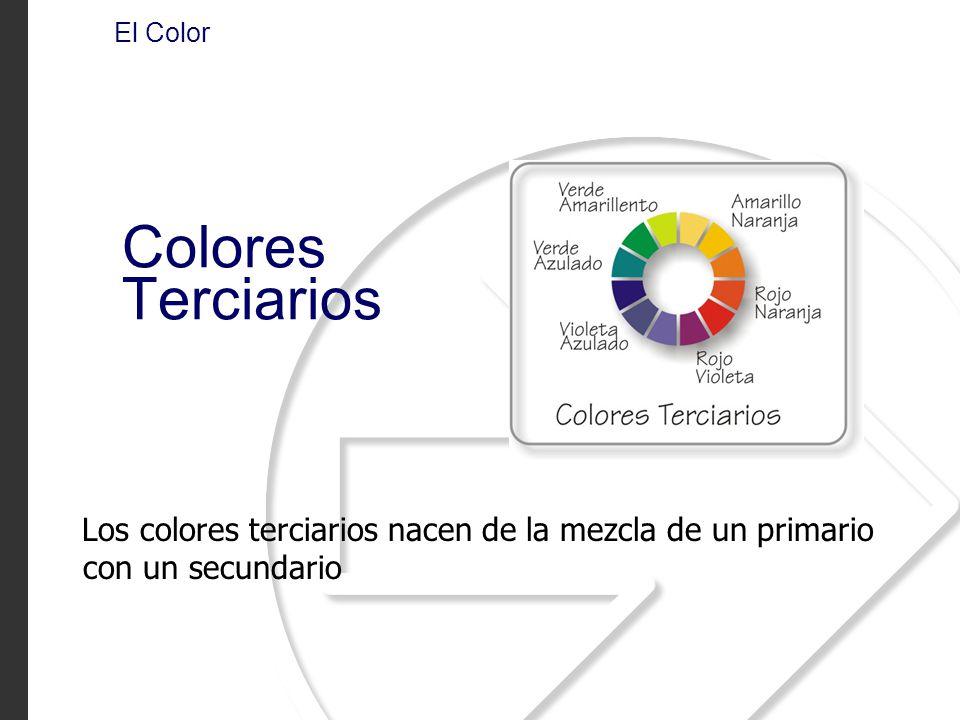 El Color Colores Terciarios.