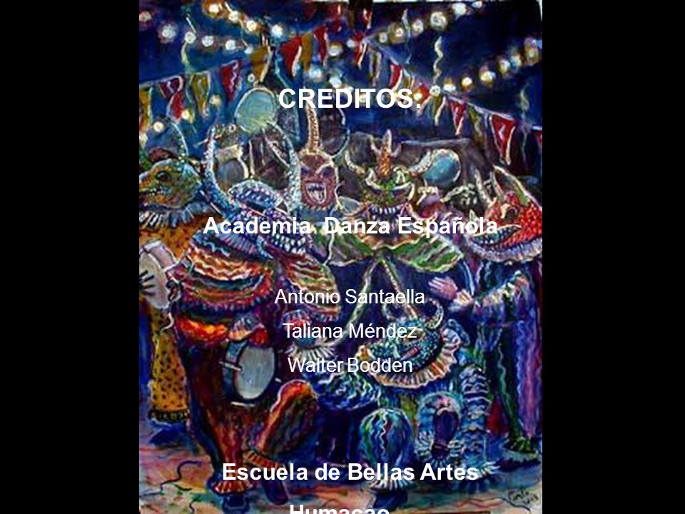 Academia Danza Española Escuela de Bellas Artes