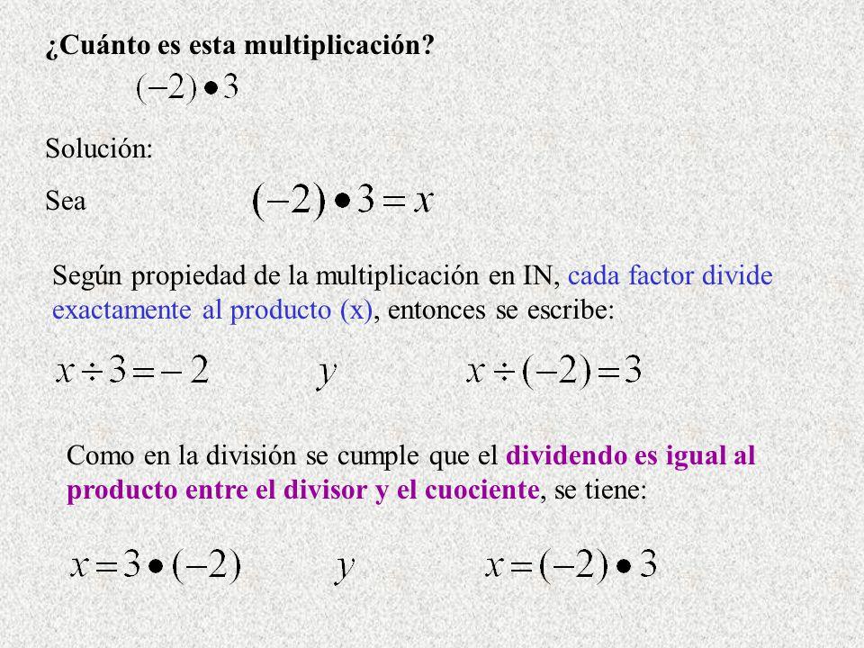 ¿Cuánto es esta multiplicación
