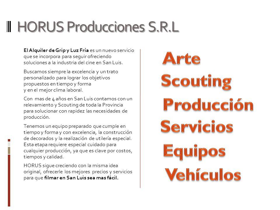 HORUS Producciones S.R.L