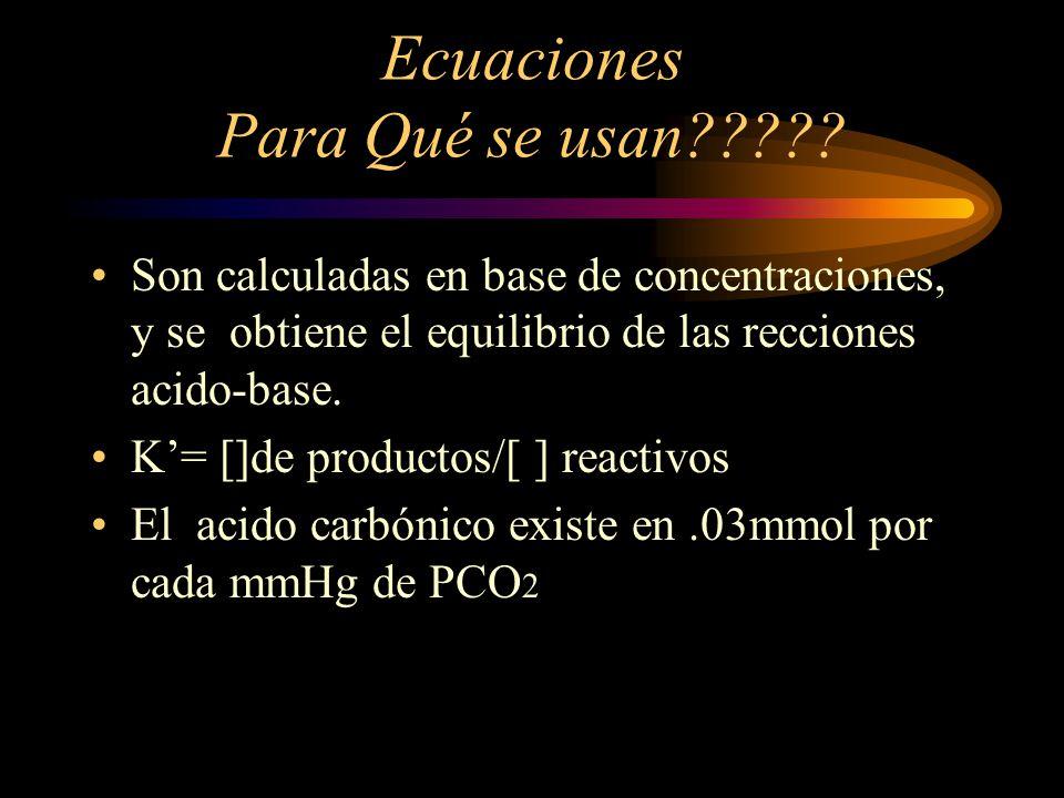 Ecuaciones Para Qué se usan