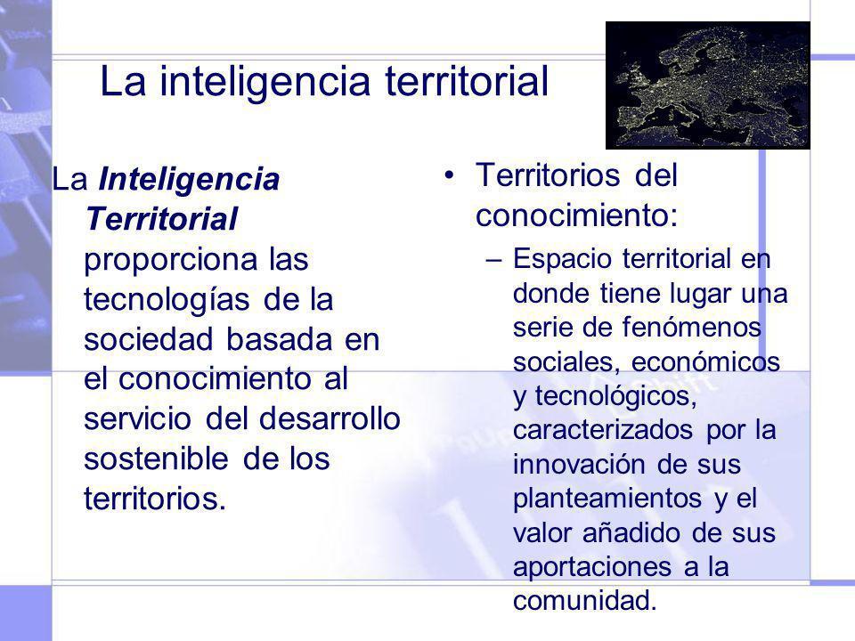 La inteligencia territorial