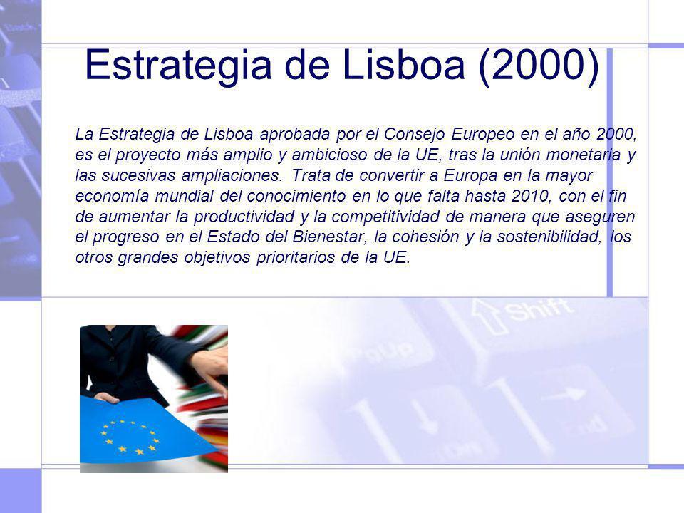 Estrategia de Lisboa (2000)