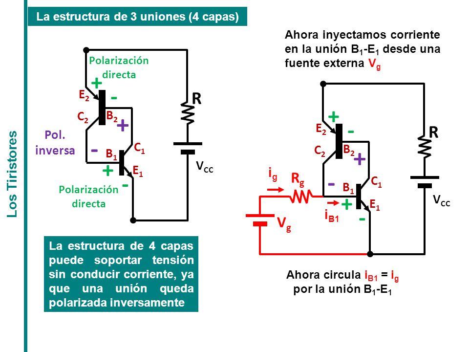 + - + - + - + - R R Rg Vg E2 C2 B2 E2 Pol. inversa C1 C2 B2 B1