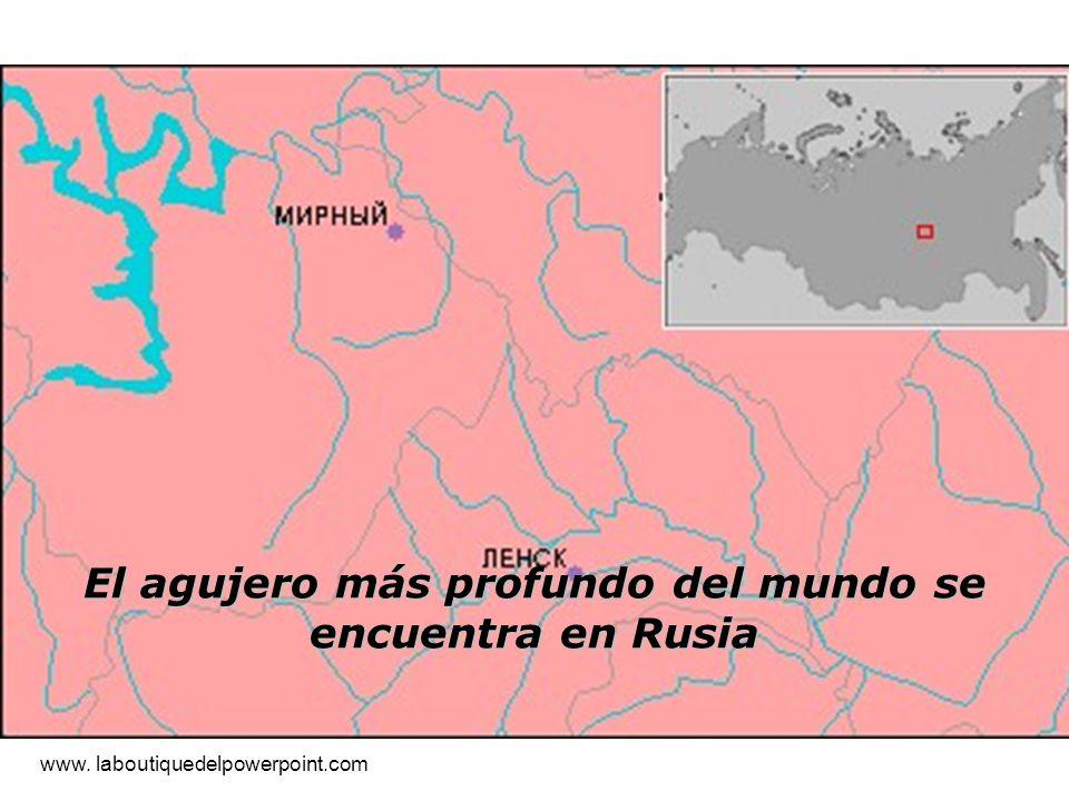 El agujero más profundo del mundo se encuentra en Rusia