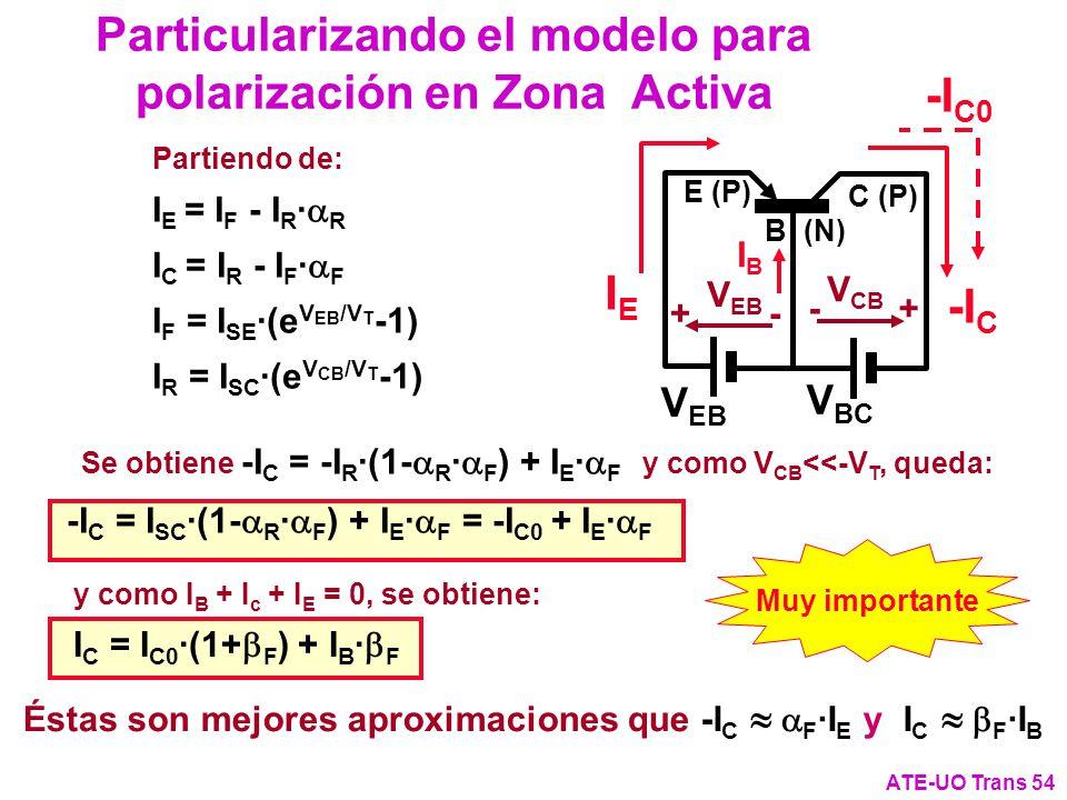 Particularizando el modelo para polarización en Zona Activa