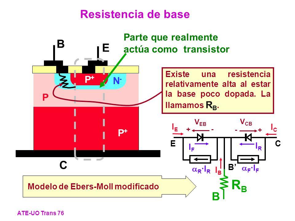 RB Resistencia de base B E C B