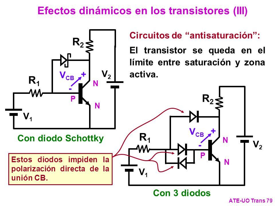 Efectos dinámicos en los transistores (III)