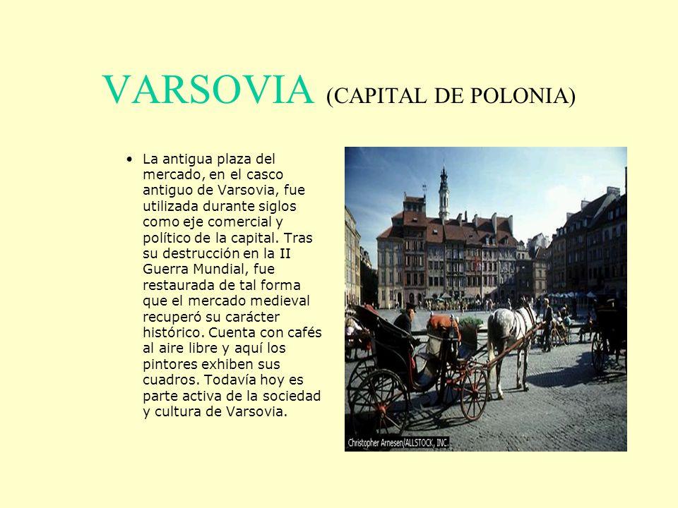 VARSOVIA (CAPITAL DE POLONIA)