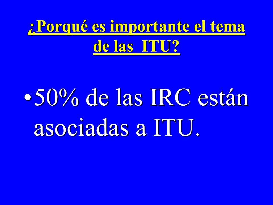¿Porqué es importante el tema de las ITU