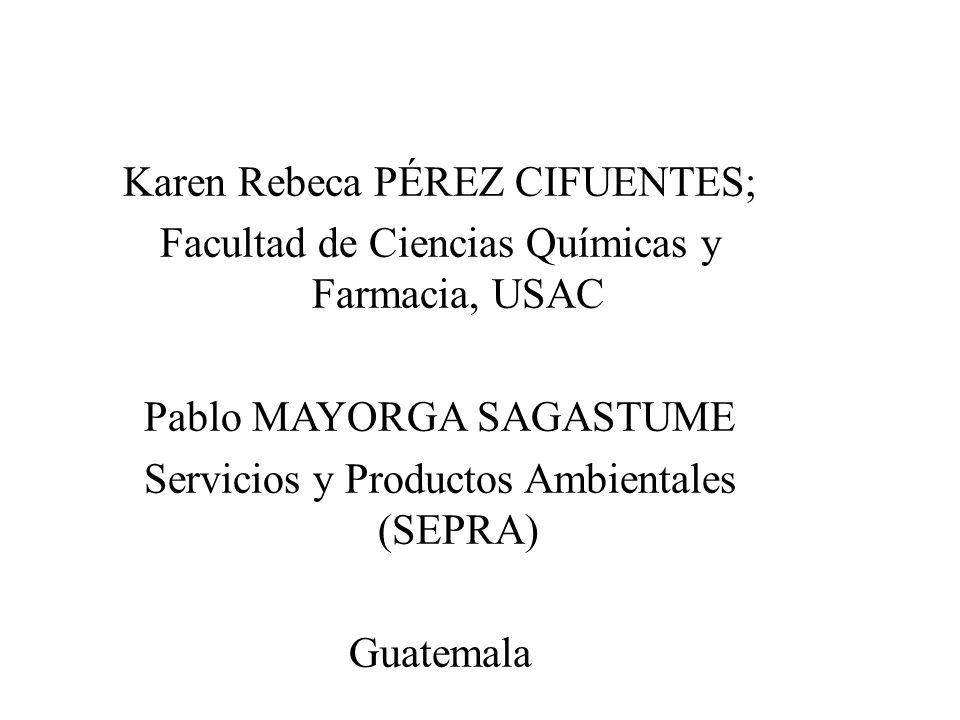 Karen Rebeca PÉREZ CIFUENTES;