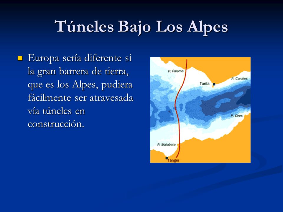 Túneles Bajo Los Alpes