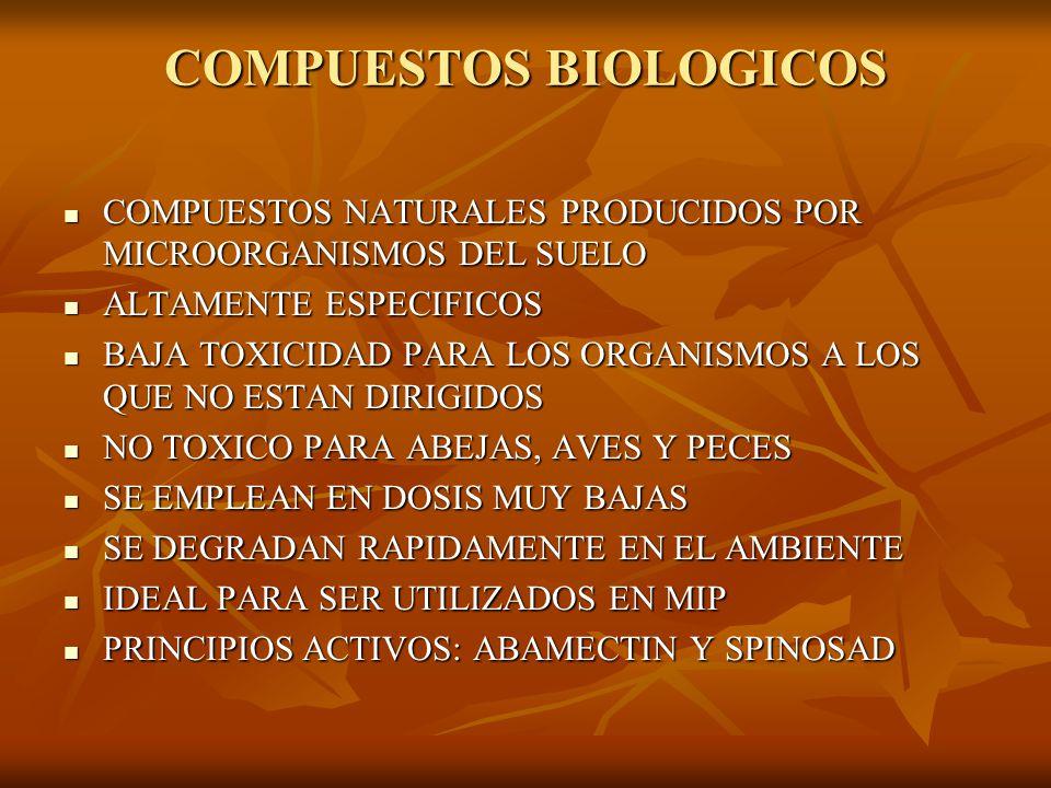 COMPUESTOS BIOLOGICOS