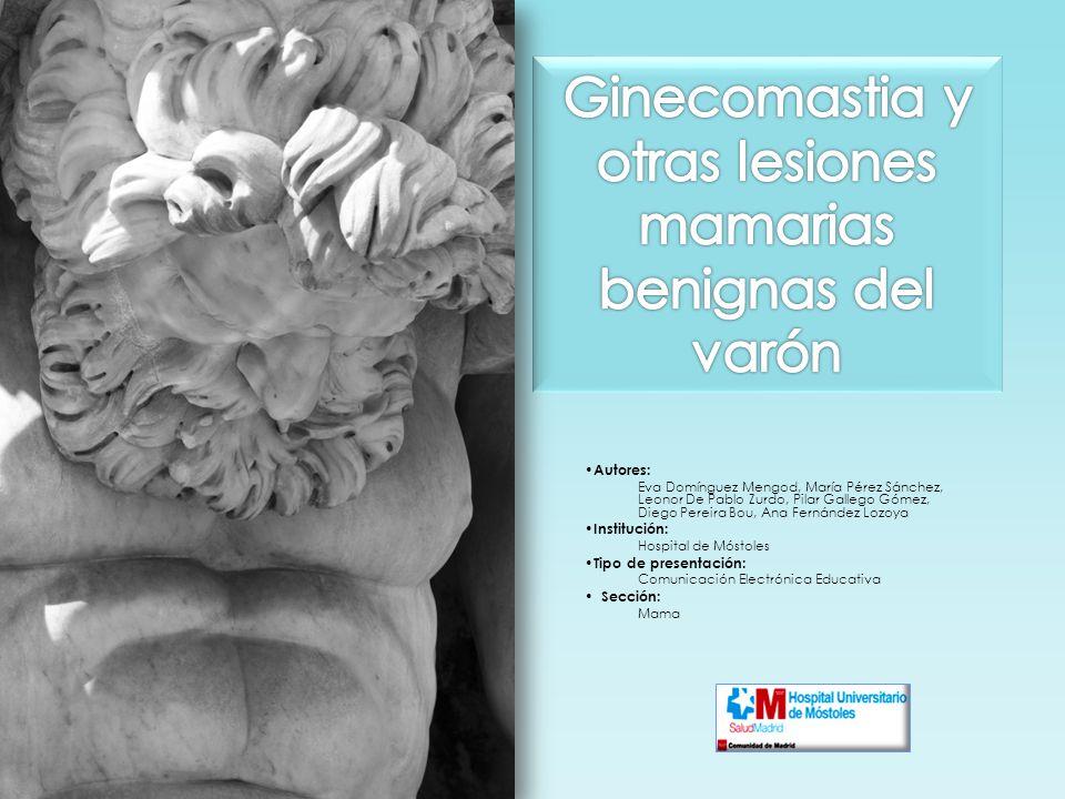 Ginecomastia y otras lesiones mamarias benignas del varón