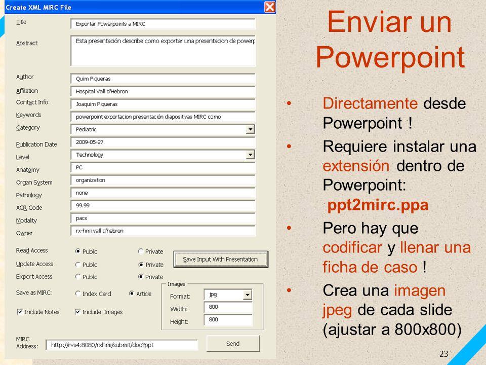 Enviar un Powerpoint Directamente desde Powerpoint !