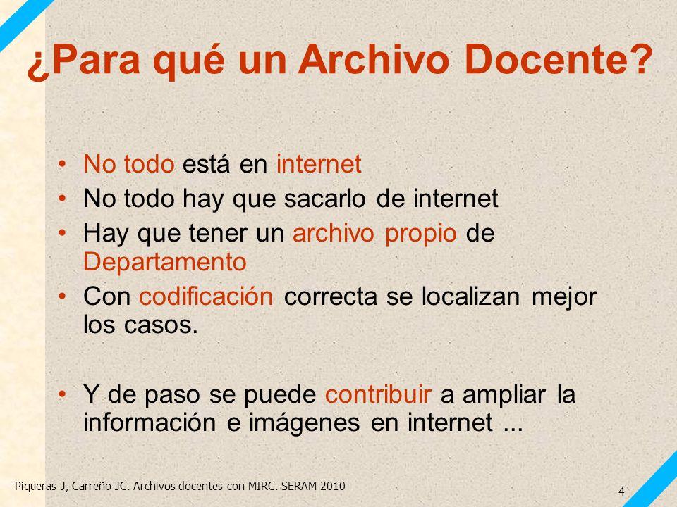 ¿Para qué un Archivo Docente
