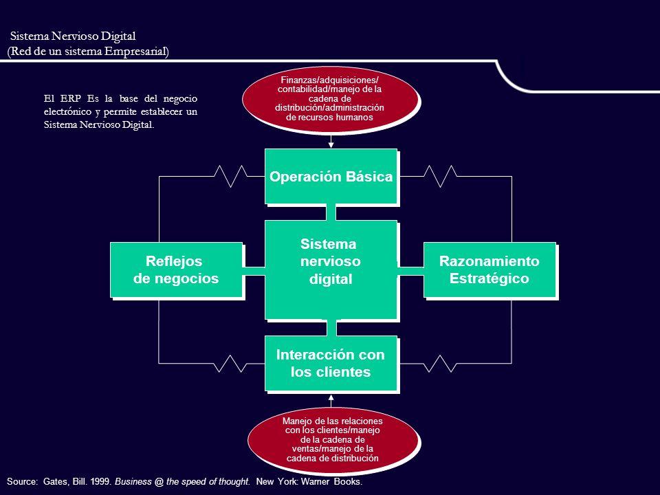 Sistema Nervioso Digital (Red de un sistema Empresarial)