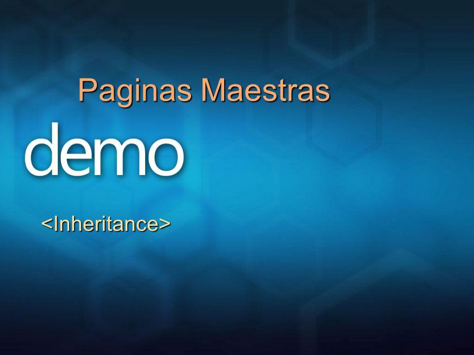 Paginas Maestras <Inheritance> 3/25/2017 12:04 AM